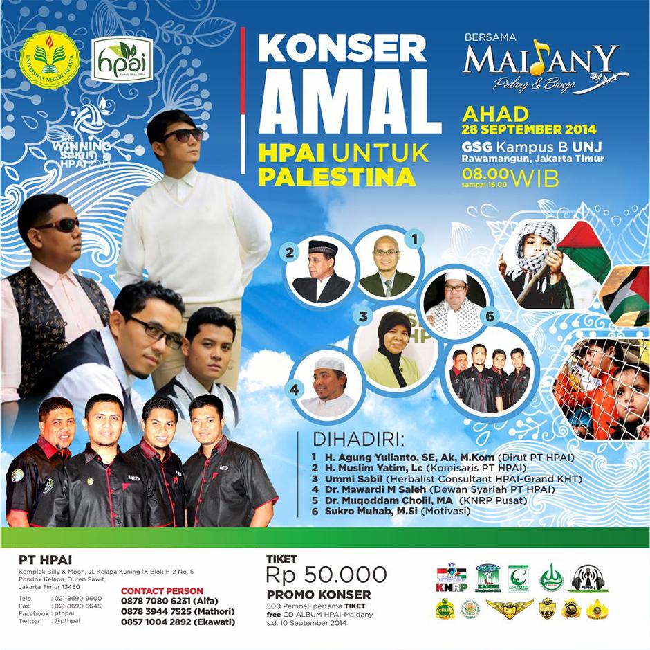 Poster Konser Amal HPAI