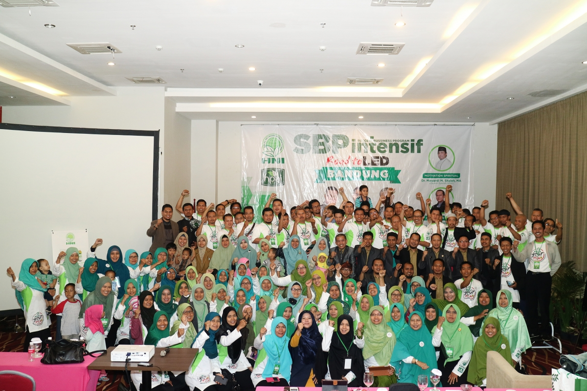 SBP INTENSIF NASIONAL ROAD TO LED, BANDUNG-2016