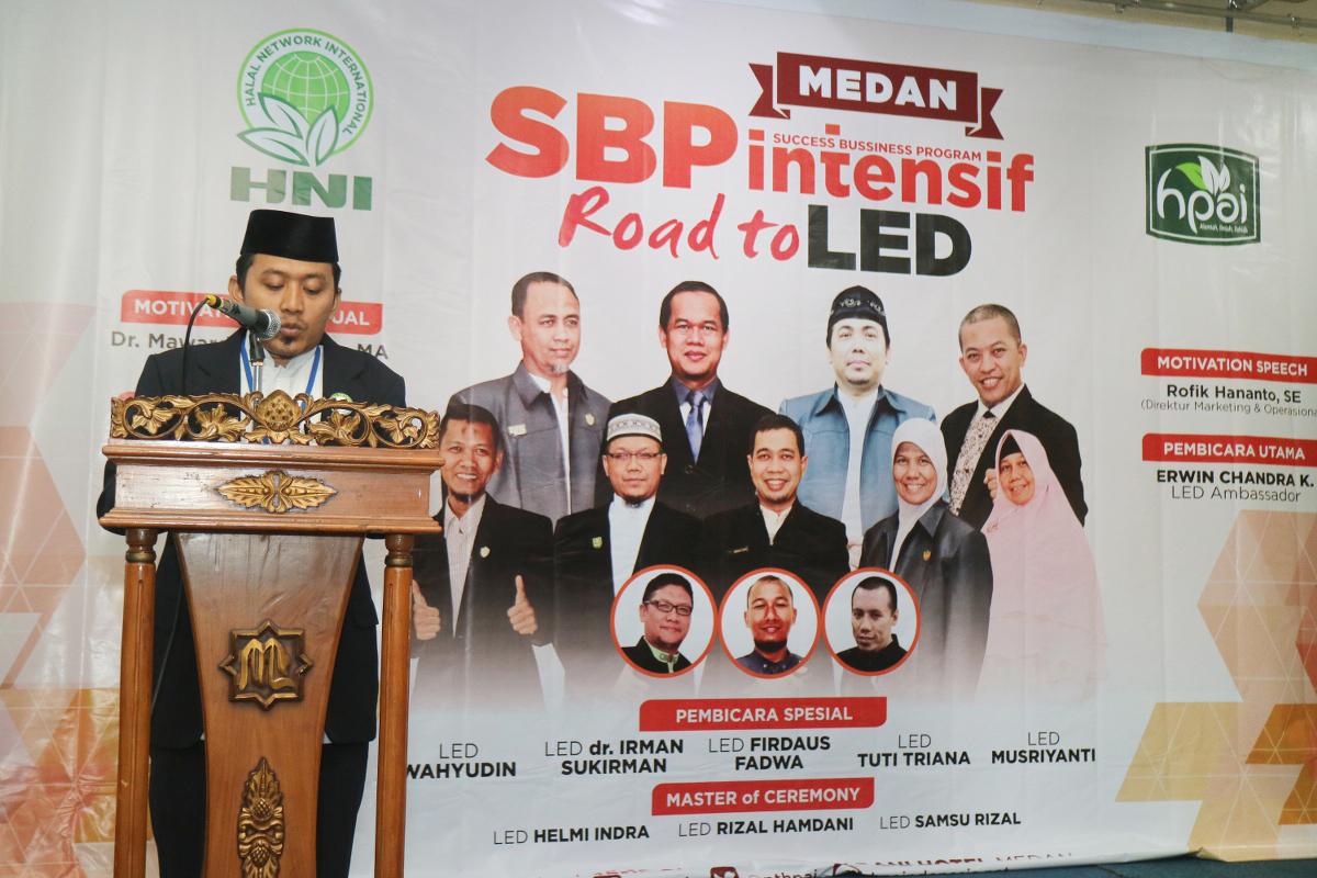 SBP INTENSIF NASIONAL ROAD TO LED, MEDAN-2016