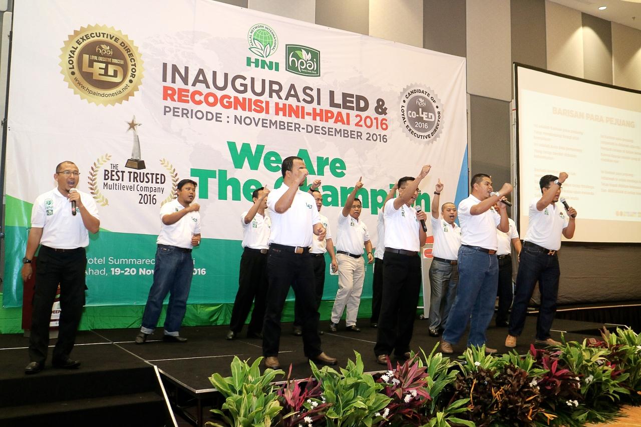 INAUGURASI LED & RECOGNISI HNI-HPAI 2016