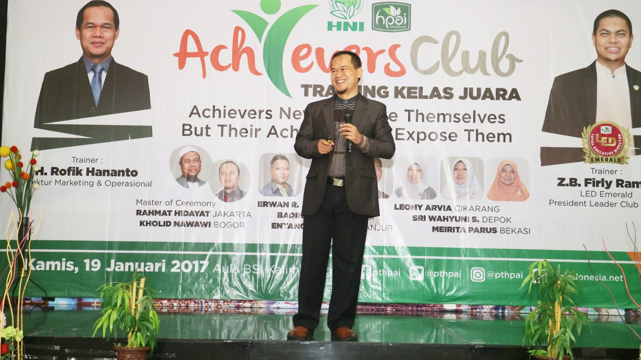 ACHIEVERS CLUB – Training Kelas Juara 2017