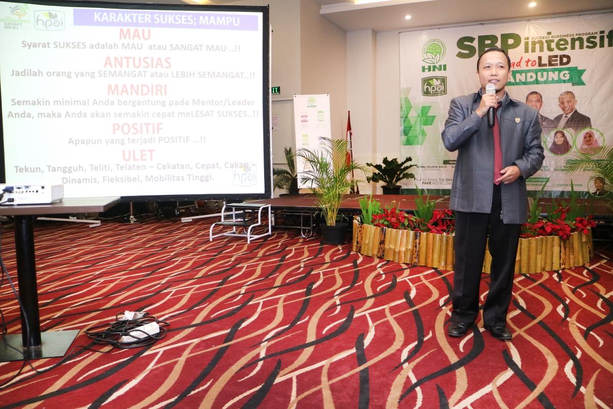 SBP INTENSIF NASIONAL ROAD TO LED, BANDUNG-2016