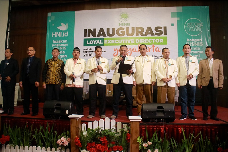 Inagurasi Loyal Executive Director 2018